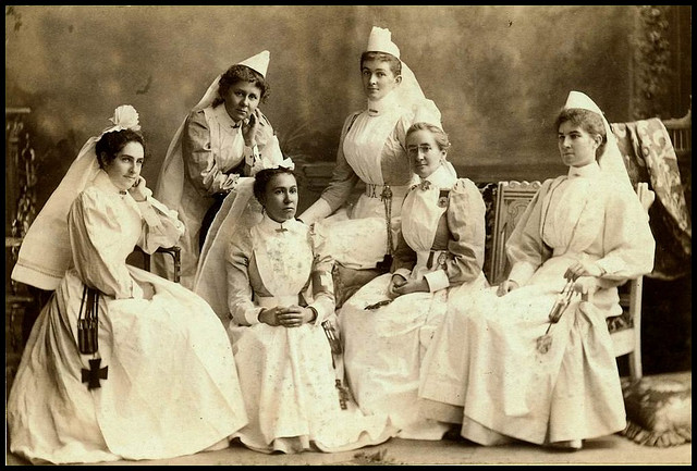 Patriotic nurses for South Africa - 1899 by State Library of South Australia